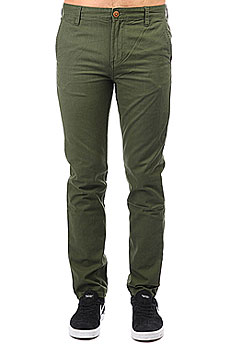 Штаны прямые Quiksilver Everyday Chino Rifle Green