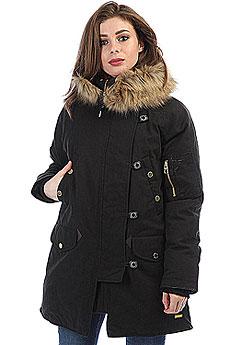 Куртка парка женская Extra Lora Black