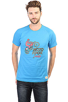 Футболка Запорожец Motokross Blue