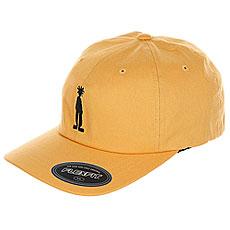 Бейсболка классическая Stussy Fitted Low Cap Gold