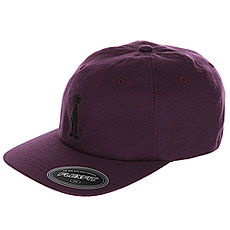 Бейсболка классическая Stussy Fitted Low Cap Purple