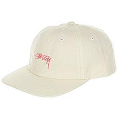 Бейсболка классическая Stussy Smooth Stock Low Cap Cream