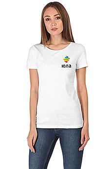Футболка женская Wearcraft Premium Юла Logo Белая