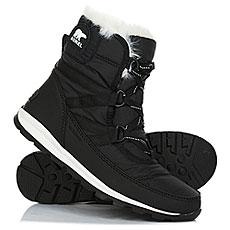 Ботинки высокие женские Sorel Whitney Short Lace Black