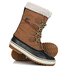 Ботинки зимние Sorel 1964 Pac Nylon Nutmeg Black