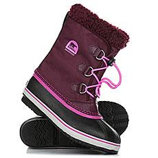 Ботинки зимние детские Sorel Yoot Pac Nylon Purple