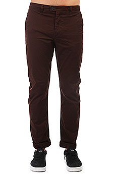 Штаны прямые Quiksilver Surfpant Chocolate