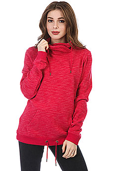 Толстовка кенгуру женская Roxy Sandy Dreams Persian Red Heather
