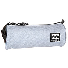 Пенал Billabong Barrel Pencil Case Grey Heather