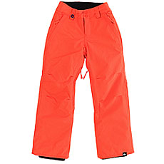 Штаны сноубордические детские Quiksilver Estate Youth Pt Mandarin Red