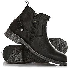 Ботинки высокие Wrangler Cliff Zip Black