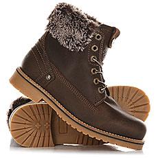 Ботинки зимние женские Wrangler Creek Alaska Dark Brown