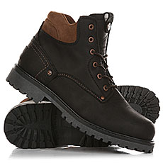 Ботинки зимние Wrangler Yuma Fur Black/Dark Brown