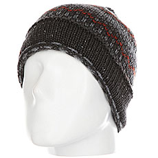 Шапка Quiksilver Nash Beanie Grey Heather
