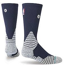 Носки высокие Stance Nba Oncourt Solid Crew Navy