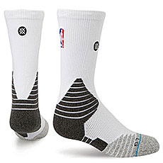 Носки высокие Stance Nba Oncourt Solid Crew White