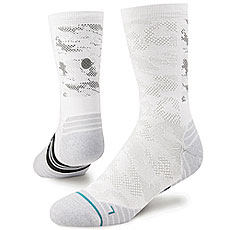 Носки высокие Stance Run Mens Hysteric Crew White