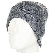 Шапка Quiksilver Brigade Beanie Grey Heather