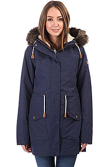 Куртка парка женская Roxy Amy 3n1 Peacoat