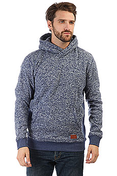 Толстовка кенгуру Quiksilver Kellerhood Medieval Blue Heathe