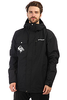 Quiksilver Mission Art Black
