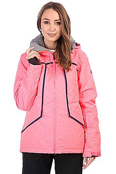Куртка утепленная женская Roxy Wildlife Neon Grapefruit