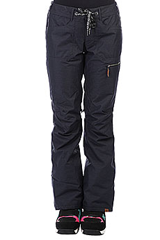 Штаны сноубордические женские Roxy Rifter True Black