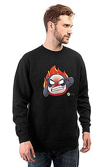 Свитшот Icq Angrypanda Черный