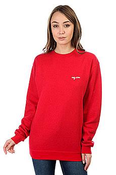 Свитшот Женский My.com Logo Красный