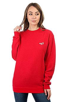 Свитшот Женский Mytarget Logo Красный