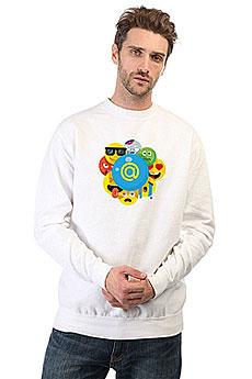 Свитшот Mail.ru Smile Белый