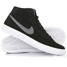Кеды высокие женские Nike Sb Bruin Hi Black