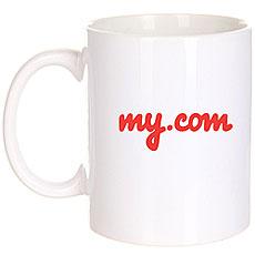Кружка My.Com Logo Белая
