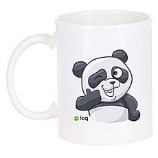 Кружка ICQ Okpanda Белая