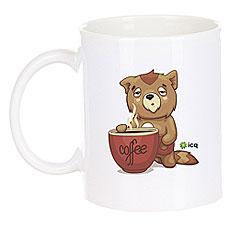 Кружка ICQ Coffeenot Белая