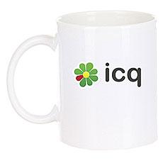 Кружка ICQ Logo Белая