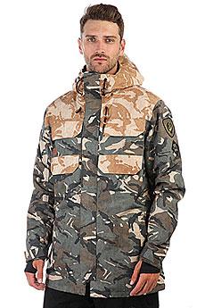 Куртка утепленная DC Haven British Woodland Cam