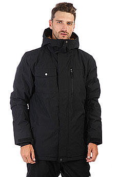 Куртка утепленная Quiksilver Mission Sol Black