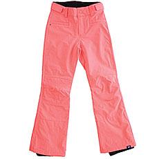 Штаны сноубордические детские Roxy Creek Girl Neon Grapefruit