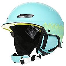 Шлем для сноуборда женский Roxy Power Powder Aruba Blue