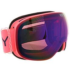 Маска для сноуборда женская Roxy Popscreen Neon Grapefruit