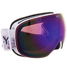 Маска для сноуборда женская Roxy Popscreen Bright White