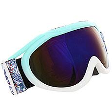 Маска для сноуборда женская Roxy Loola2 Bright White_hackney