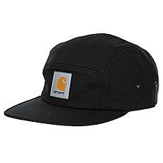Бейсболка пятипанелька Carhartt WIP Backley Cap Black