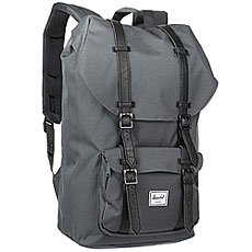 Рюкзак туристический Herschel Little America Dark Shadow/Black Synthetic Leather