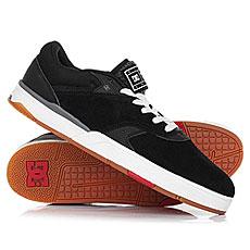 Кеды низкие DC Shoes Tiago Black/White/Red