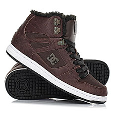 Кеды зимние женские DC Shoes Rebound Hi Wnt Brown/Chocolate