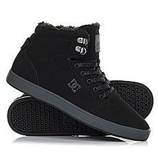 Кеды зимние DC Shoes Crisis High Wnt Black/Grey
