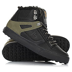 Кеды зимние DC Shoes Spartan Hi Wnt Black/Olive