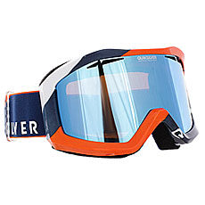 Маска для сноуборда Quiksilver Fenom Estate Blue/Orange